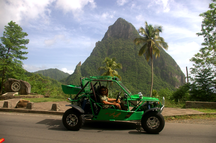 Luxe Bible Loves Saint Lucia - Top 9 Must Do's: Buggy Island Routes Caribbean Adventures