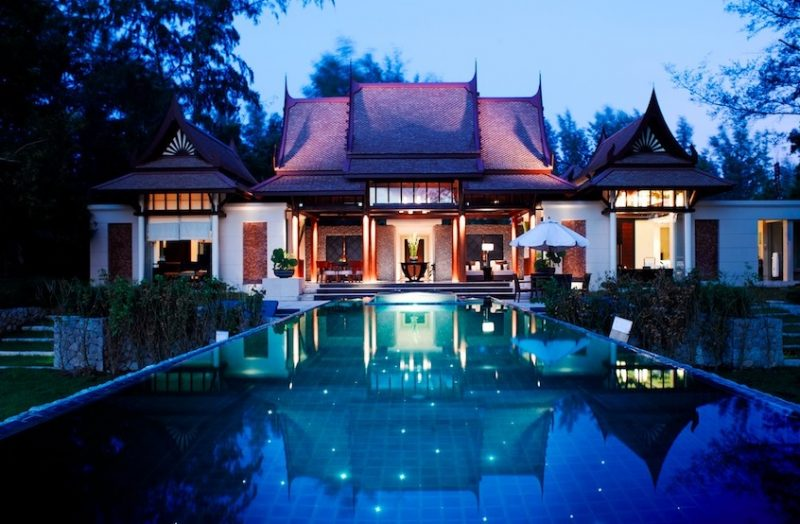 Luxe Bible's Top 5 Thailand Hotels and Resorts: Banyan Tree Double Pool Villa, Infinity Pool By Night