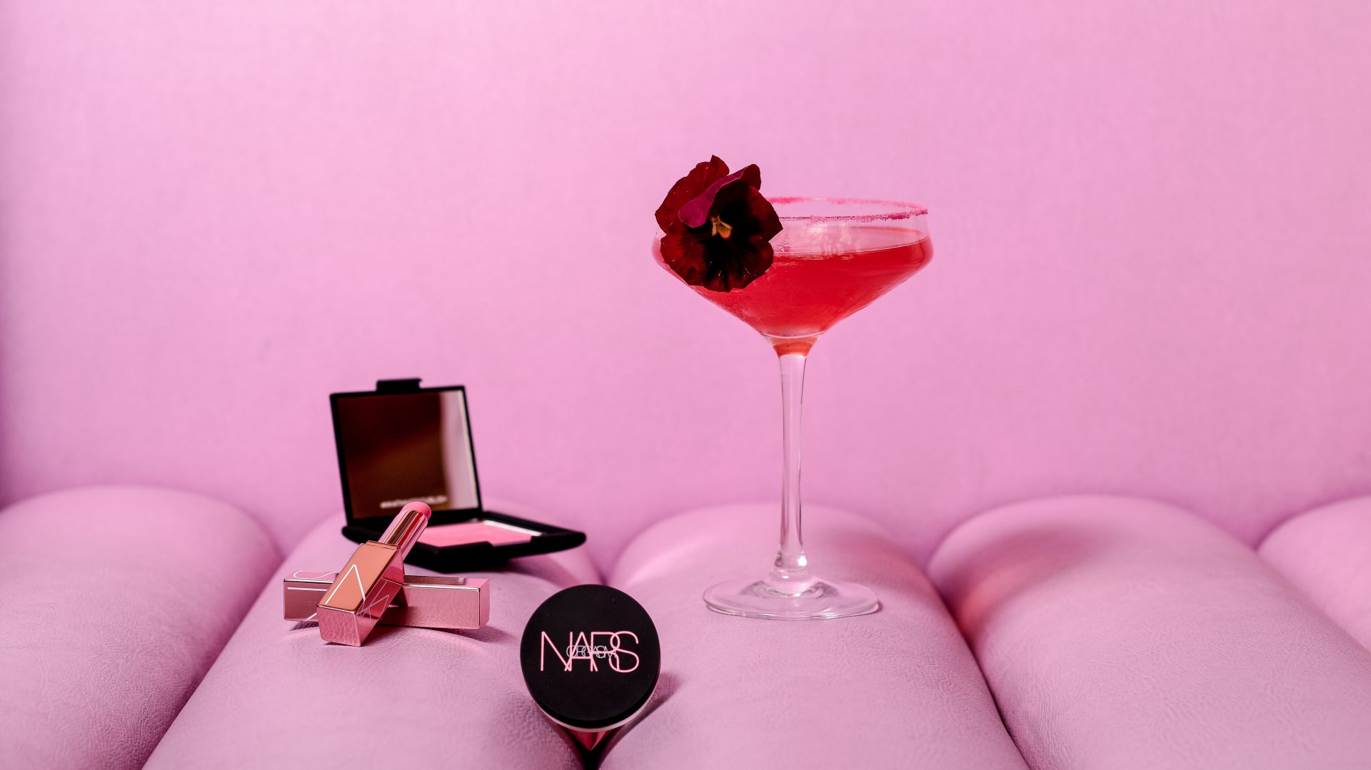 The Luxe List 2018: NARS collection cocktails at Bluebird Chelsea