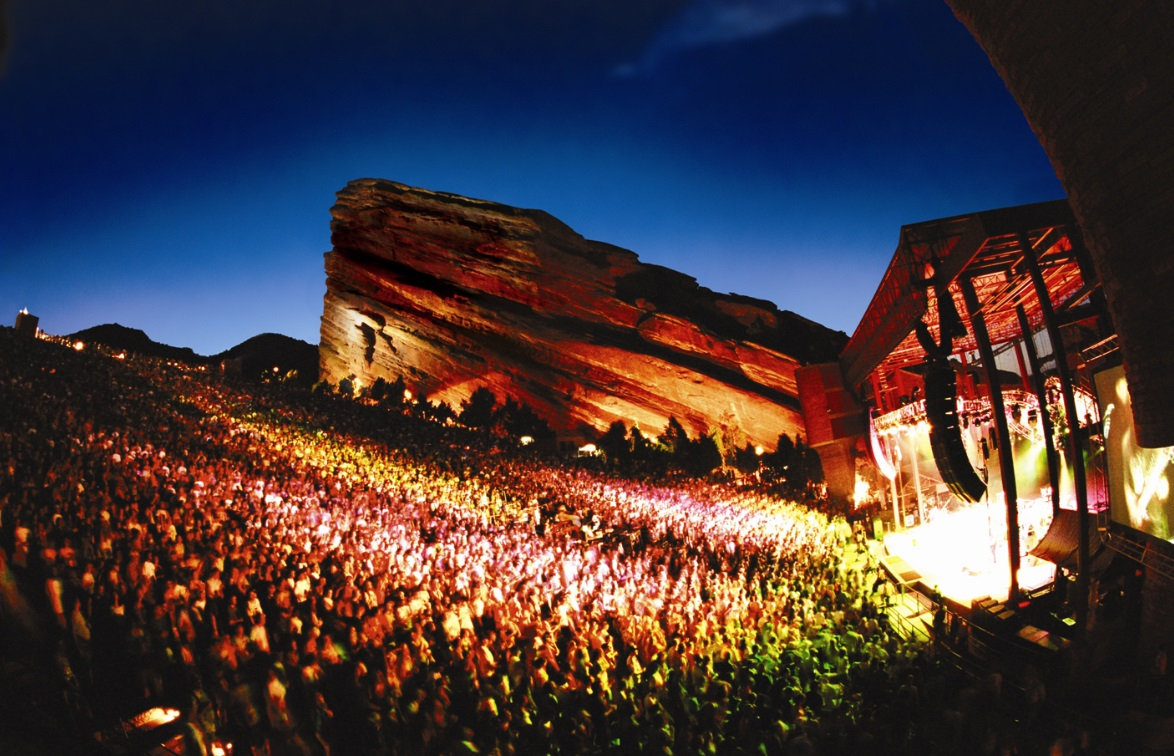 Luxe Bible's 7 Must-Do's in Denver: Denver Red Rocks Ampitheatre