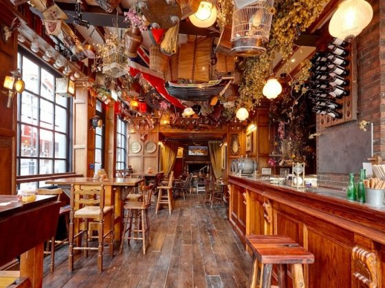 Luxe Bible Reviews Mr Fogg's Tavern, Covent Garden