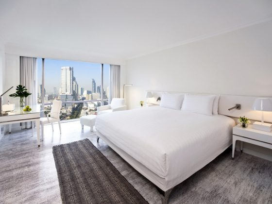 Luxe Bible Reviews Pullman Bangkok Thailand, Bedroom