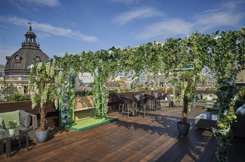 The Luxe List June 2018: Aqua Kyoto Lovage Terrace with Tanqueary No. TEN