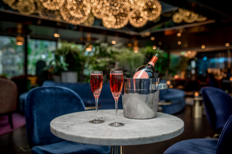 The Luxe List 2018:Celebrating 50 years of Laurent Perrier Rose Cuvee at Rumpus Rooms at Mondrian London