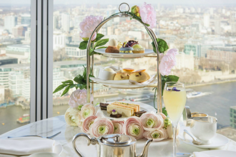 The Luxe List April 2018: Royal Botanical Afternoon Tea at Shangri-La Hotel At The Shard London