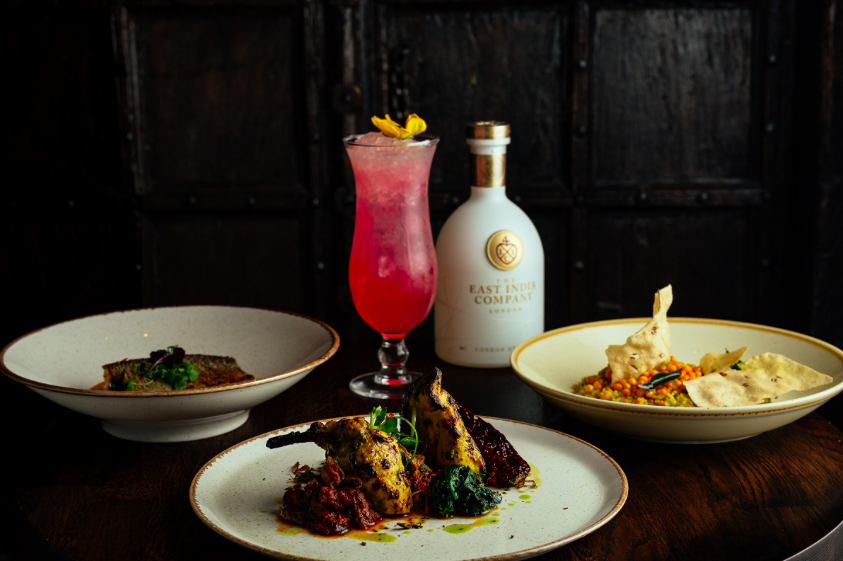 The Luxe List February 2018: Benares & The East India Gin Company Dinner