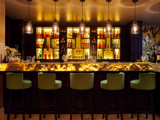 Luxe Bible's 3 Chelsea Restaurants You Should Try: Ritorno, Bar Area