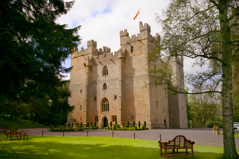 Luxe Bible's 4 Castles You Should Stay In: Langley Castle, Exterior