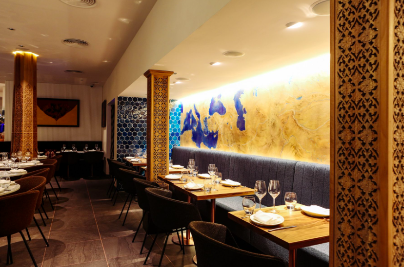 Luxe Bible's 4 Restaurants to Try Something New: Samarkand Interior