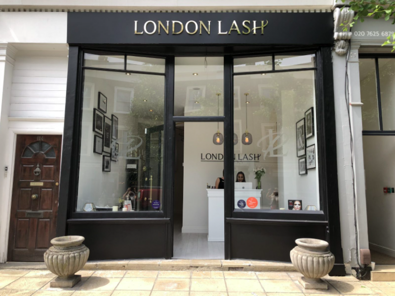 Luxe Bible's Top 3 Salons for Luxurious Lashes in London: London Lash, St. John's Wood