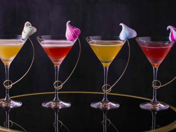 Luxe Bible Loves Martinis & Meringues at Quaglino's