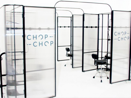 Luxe Bible Loves The Chop Chop Hair Pop-Up at Old Street Station