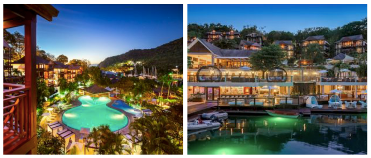 Luxe Bible Loves Saint Lucia - Top 9 Must Do's: Marigot Bay Resort & Marina