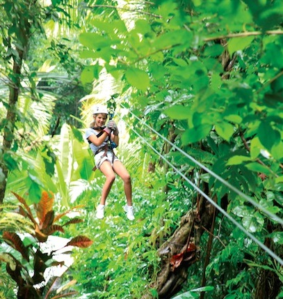 Luxe Bible Loves Saint Lucia: Zip Lining
