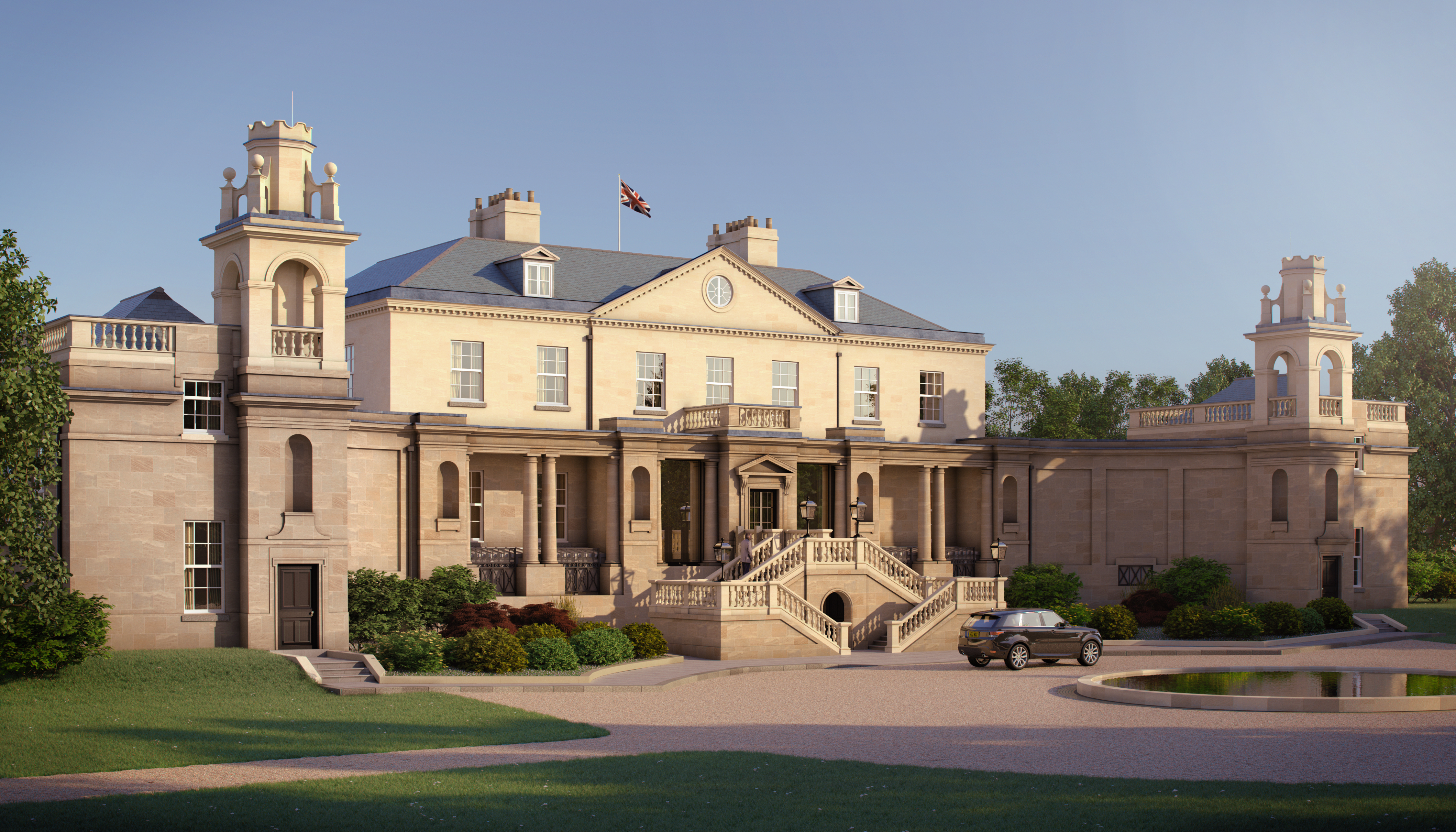 The Langley Spa with Sisley at The Langley Hotel: Exterior