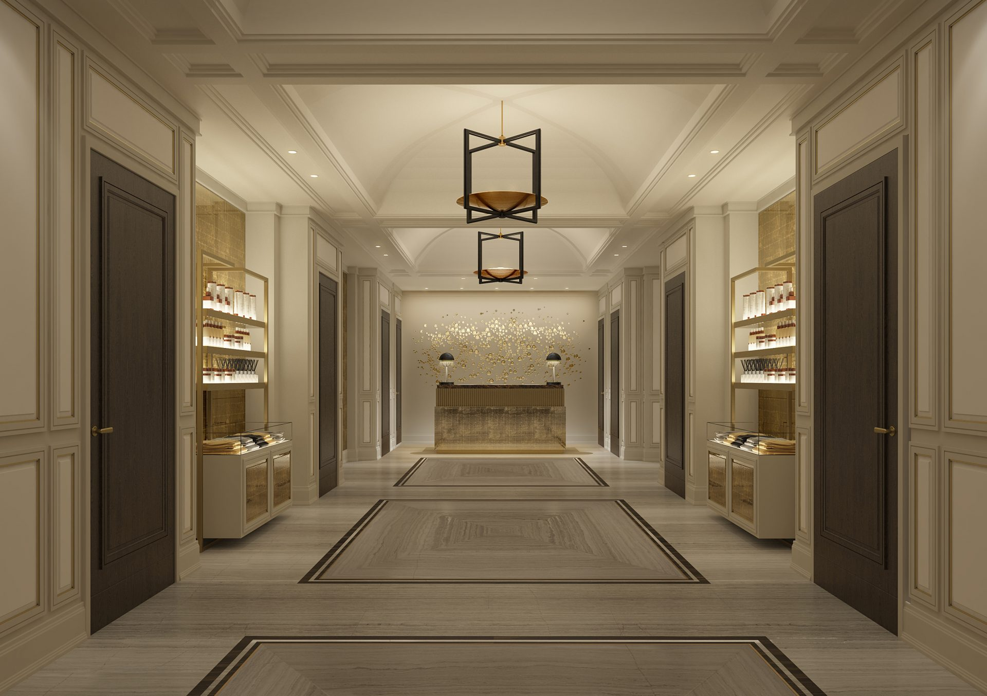 The New Langley Spa with Sisley at The Langley Hotel: Reception