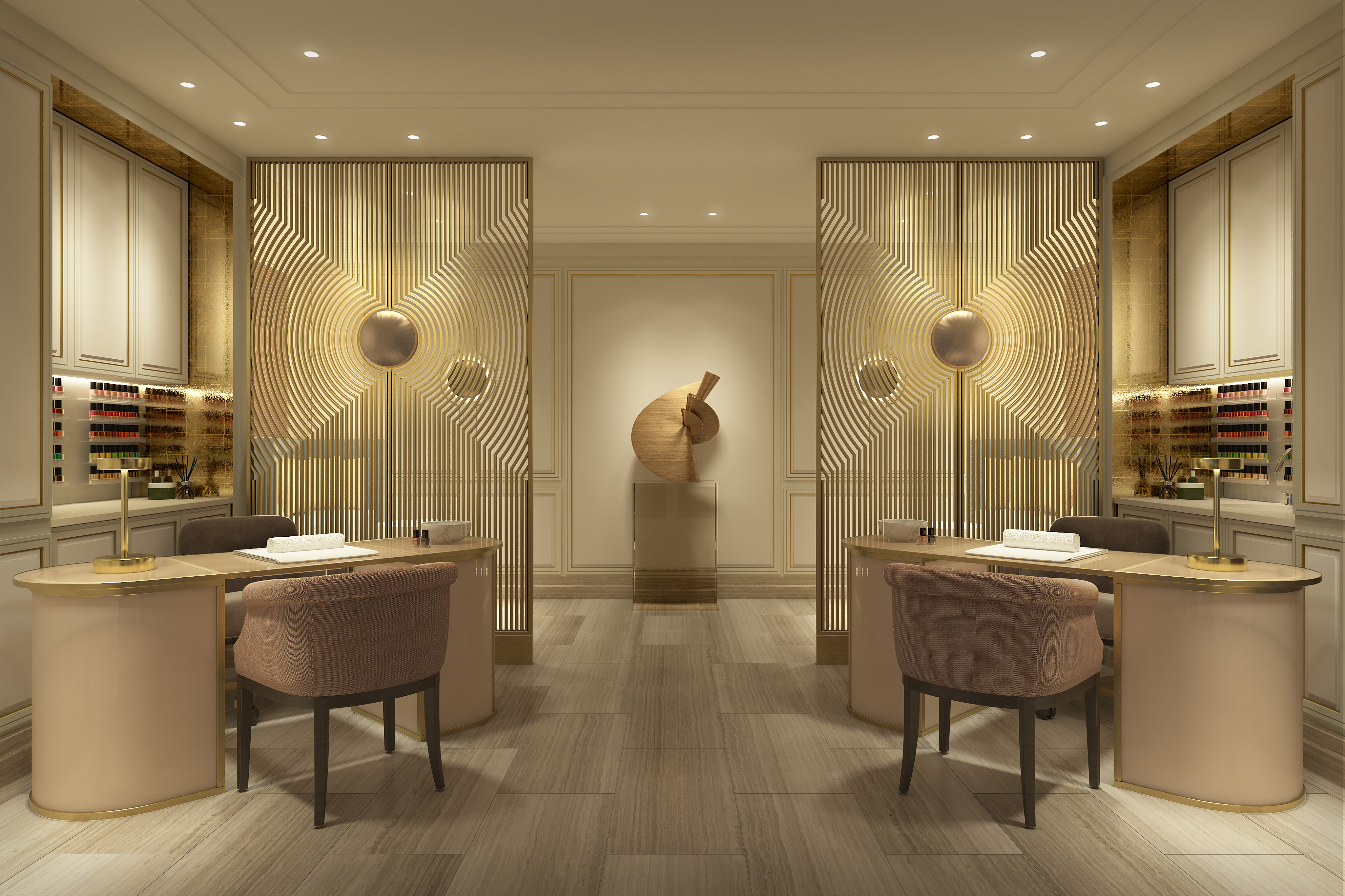 The New Langley Spa with Sisley at The Langley Hotel: Beauty Room