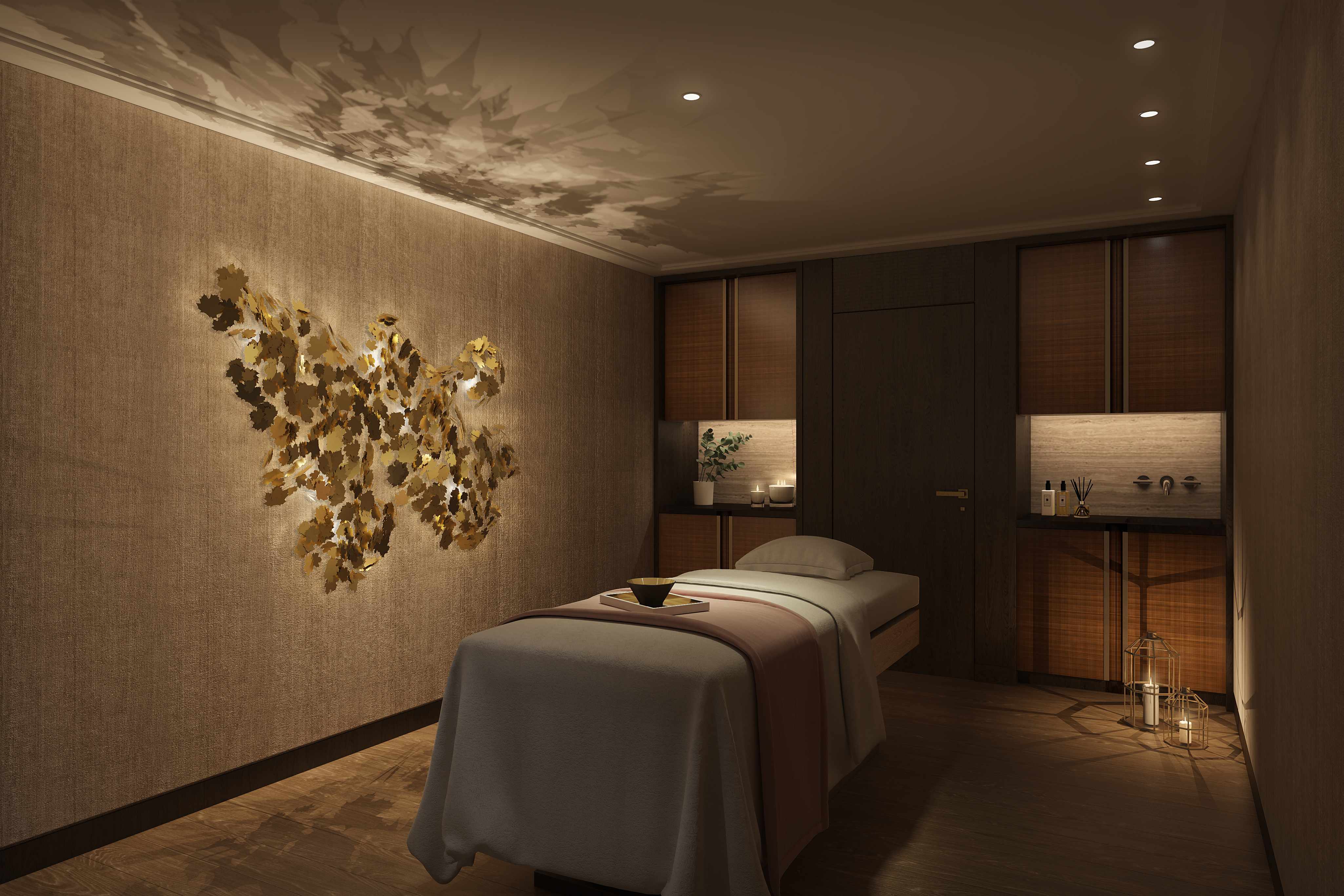 y Spa with Sisley at The Langley Hotel: Treatment Room