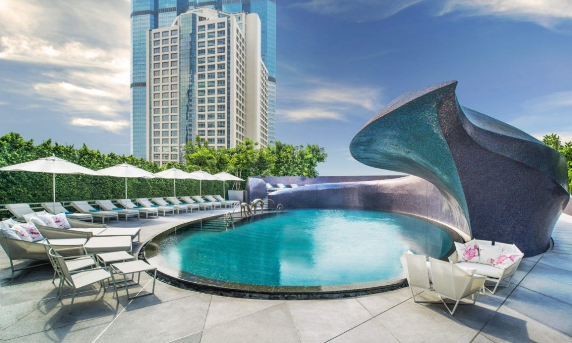 Luxe Bible's Top 5 Thailand Hotels and Resorts: W Bangkok Pool