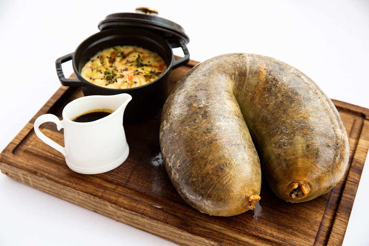 Where to Celebrate Burns Night in London: Haggis at Galvin at Windows