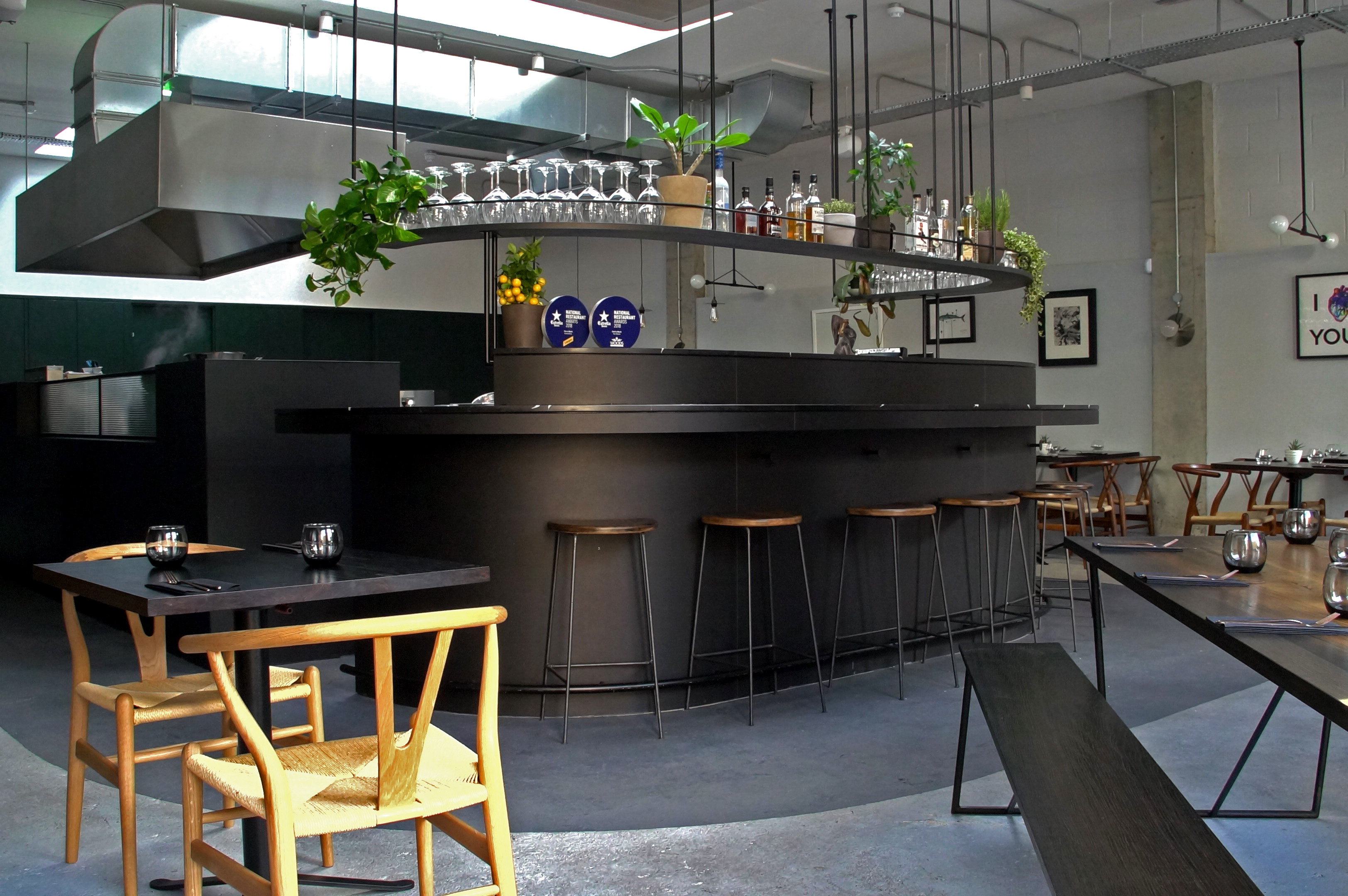 4 Celebrity Chef London Restaurants You Must Try Now - Tom Brown's Cornerstone in Hackney Wick: Interior