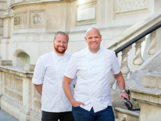 4 Celebrity Chef London Restaurants You Must Try Now - Tom Kerridge and Kerridge's Bar & Grill: Tom Kerridge & Nick Beardshaw (Photo Credit: Cristian Barnett)