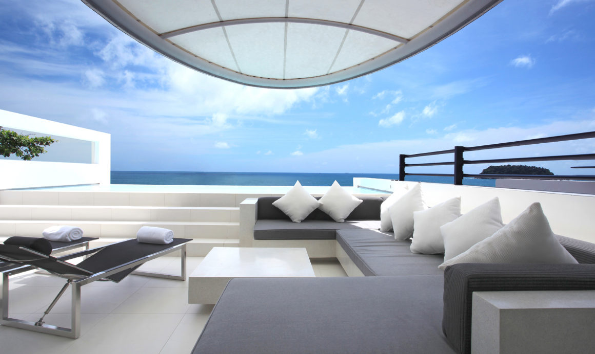 Ultimate Luxury at Kata Rocks, Phuket: Sky Pool Villa Terrace