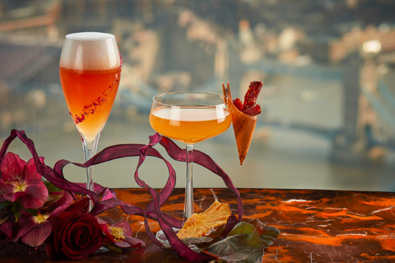 14 Date Night Ideas for Valentine's Day in London: GONG at Shangri-La at The Shard