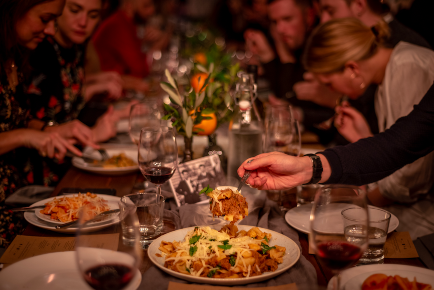 14 Date Night Ideas for Valentine's Day in London: Strazzanti Sicilian Almond Blossom Season Supper Club