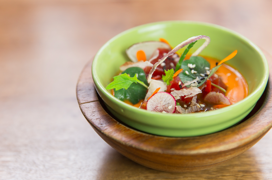 A New Taste of Peru with LIMA Fitzrovia's Re-vamped Menu: Tuna Nikkei Ceviche