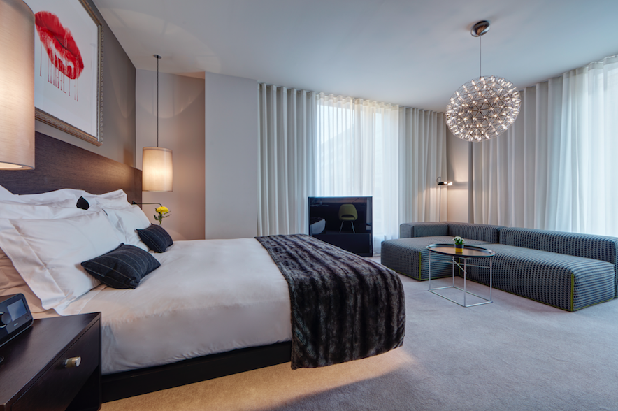 The Ridiculously Sexy Cool South Place Hotel, London: Conran & Partners Designer Bedrooms