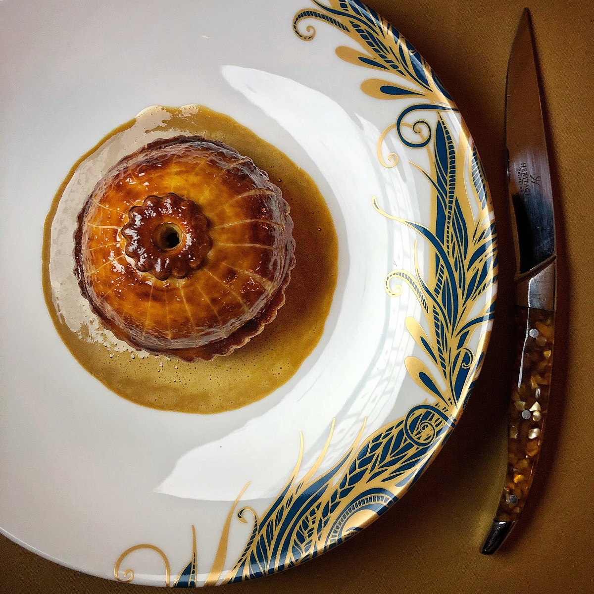 5 Pies You Might Wanna Try For British Pie Week: Pithivier Pie at L'Oscar at Baptist Grill