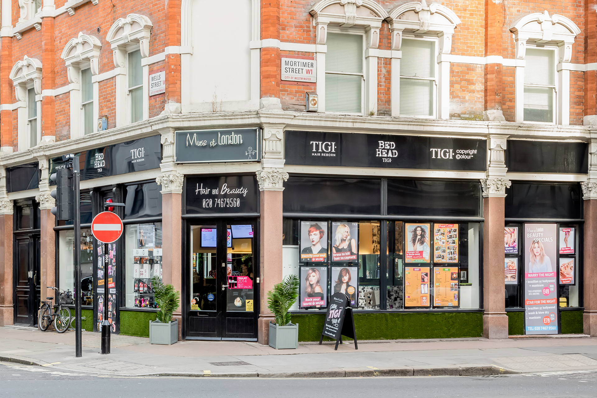 Muse of London - For the Ultimate Hair Transformation: Salon Exterior