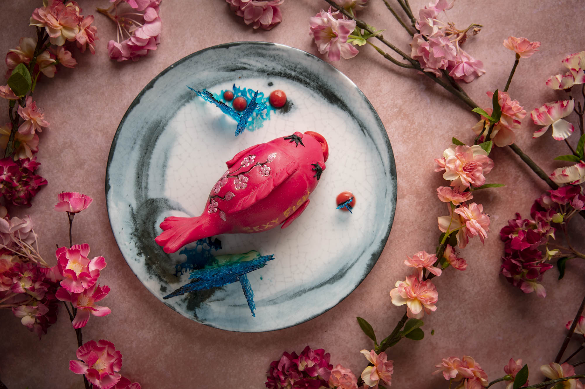 The April Luxe List 2019 - Sexy Sakura at Sexy Fish: Cherry Blossom Cake from Sebastian Wild Cakes
