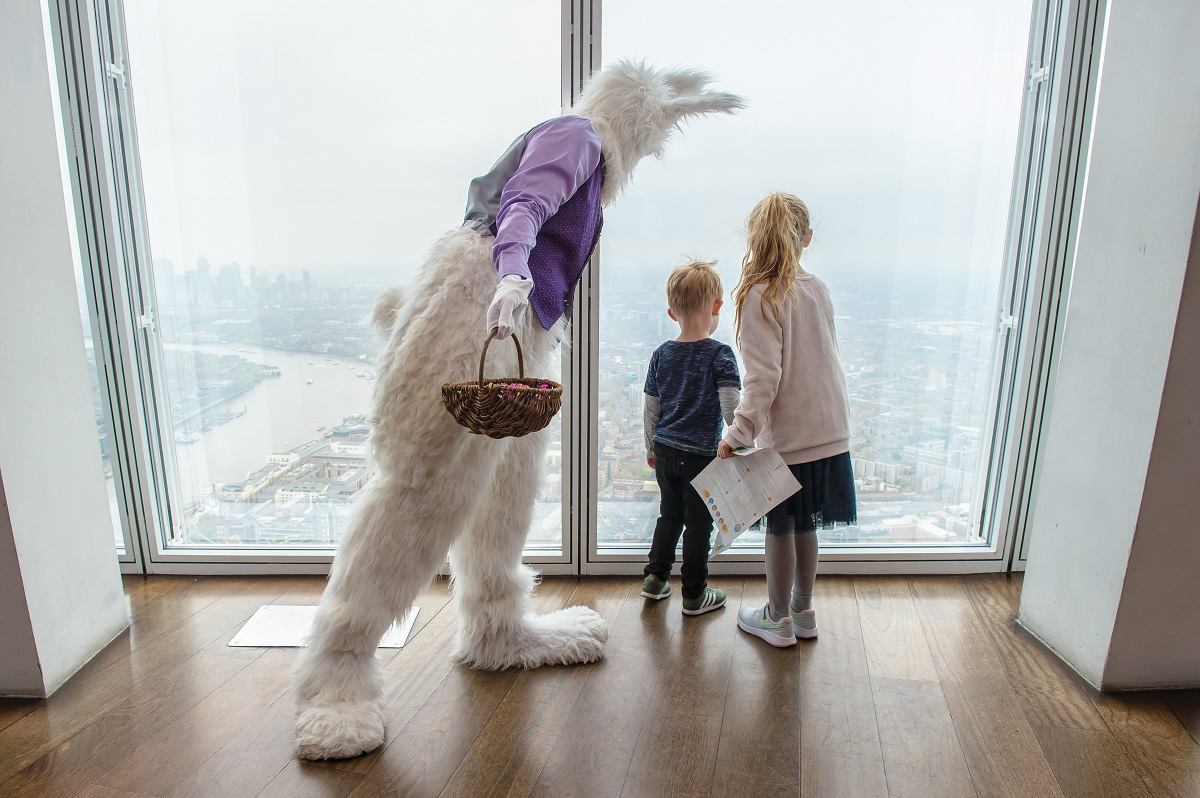 The April Luxe List 2019: The View from The Shard - London's Highest Easter Egg Hunt