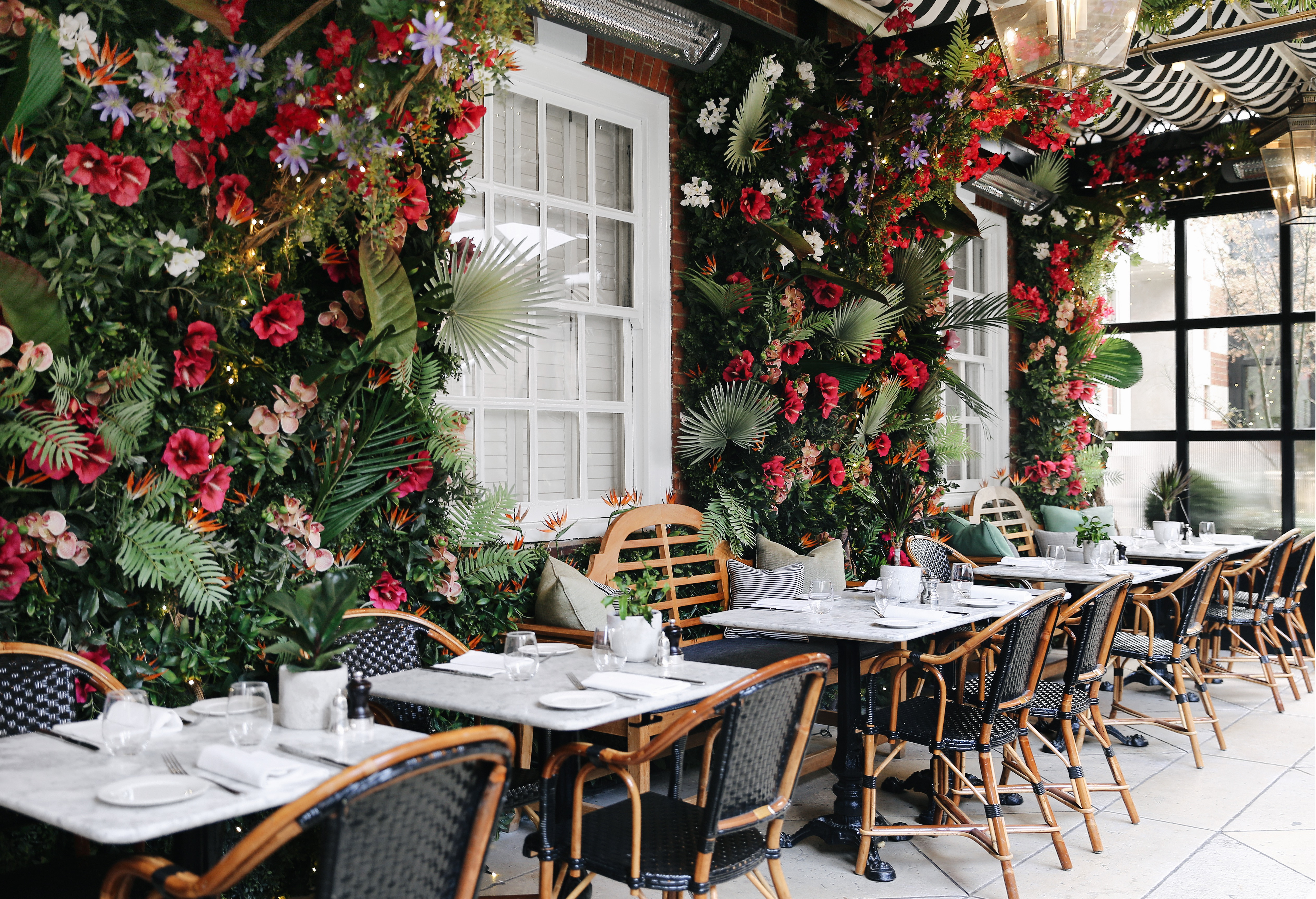 The Luxe List May 2019 - New Jungle Lunch Menu with Vegan Options at Dalloway Terrace