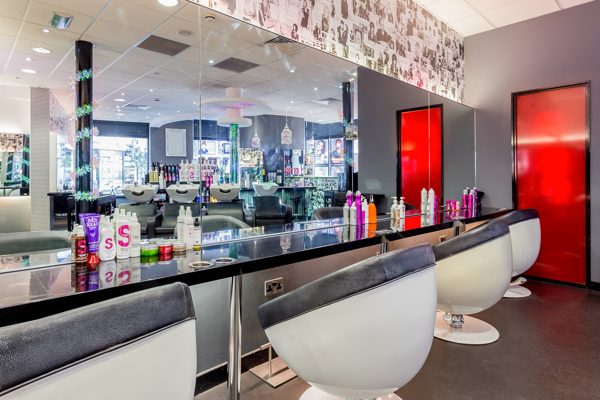 Muse of London - For the Ultimate Hair Transformation: Salon Stations