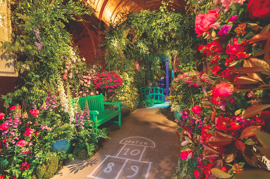 The Luxe List May 2019 - The Mayfair Flower Show at Sketch: Last Year's Impressionist Love by Rebel Rebel