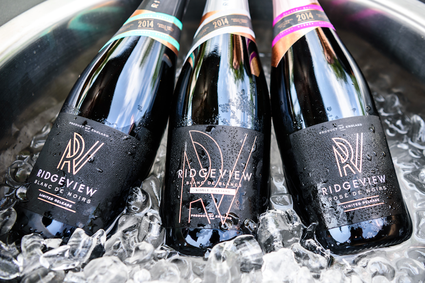 The Luxe List May 2019 -Ridgeview Celebrates English Wine Week - Vintage Range on Ice