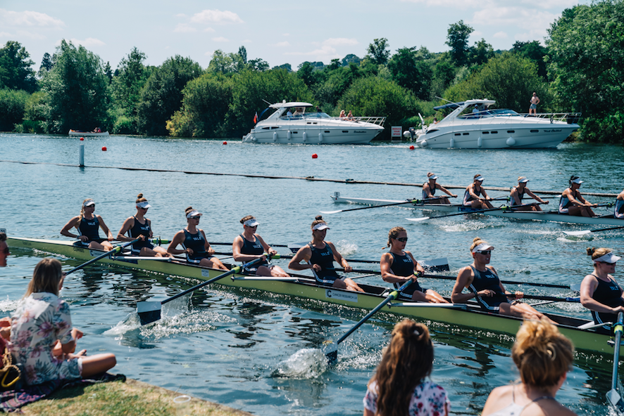 Fantastic Views of the Racing at Chinawhite at Henley Royal Regatta - The Hottest Ticket This Summer (Photo Credit: Dom Martin dommartin.co.uk)