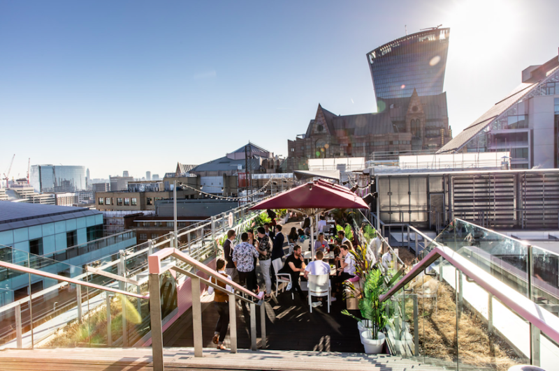 Savage Garden London - This Summer's Sexiest Rooftop Bar: Outside Terrace