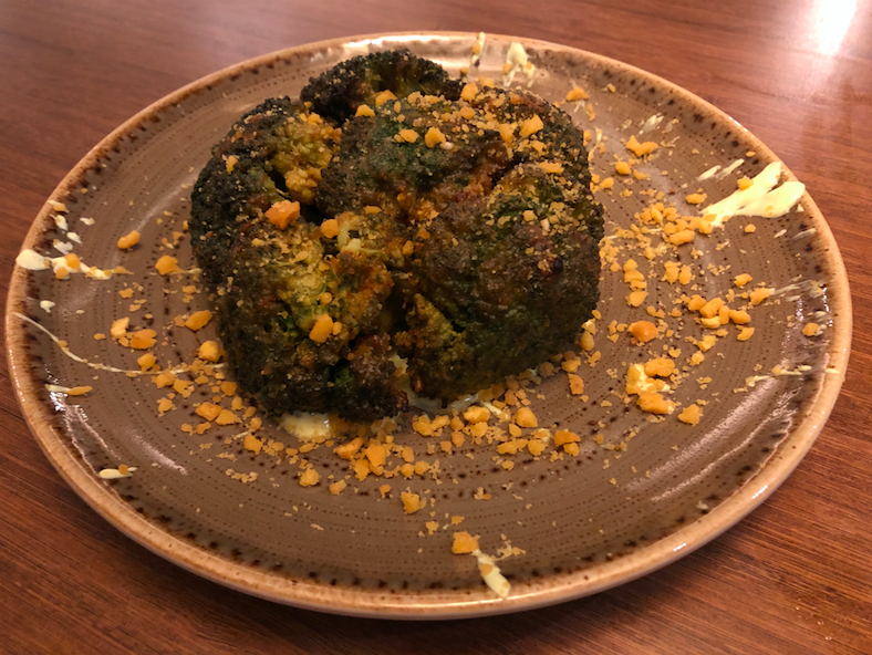 Fine Dining Indian Restaurant Kahani Hits the Spot in Chelsea: Marinated Tandoori Broccoli - The Surprising Star of the Night
