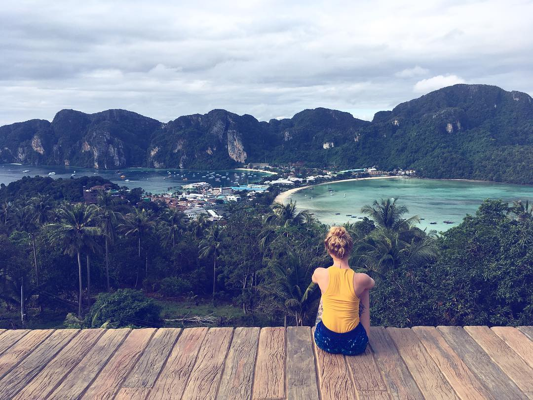 8 Must Do's on the Thai Party Paradise Island of Koh Phi Phi: View From Phi Phi View Point