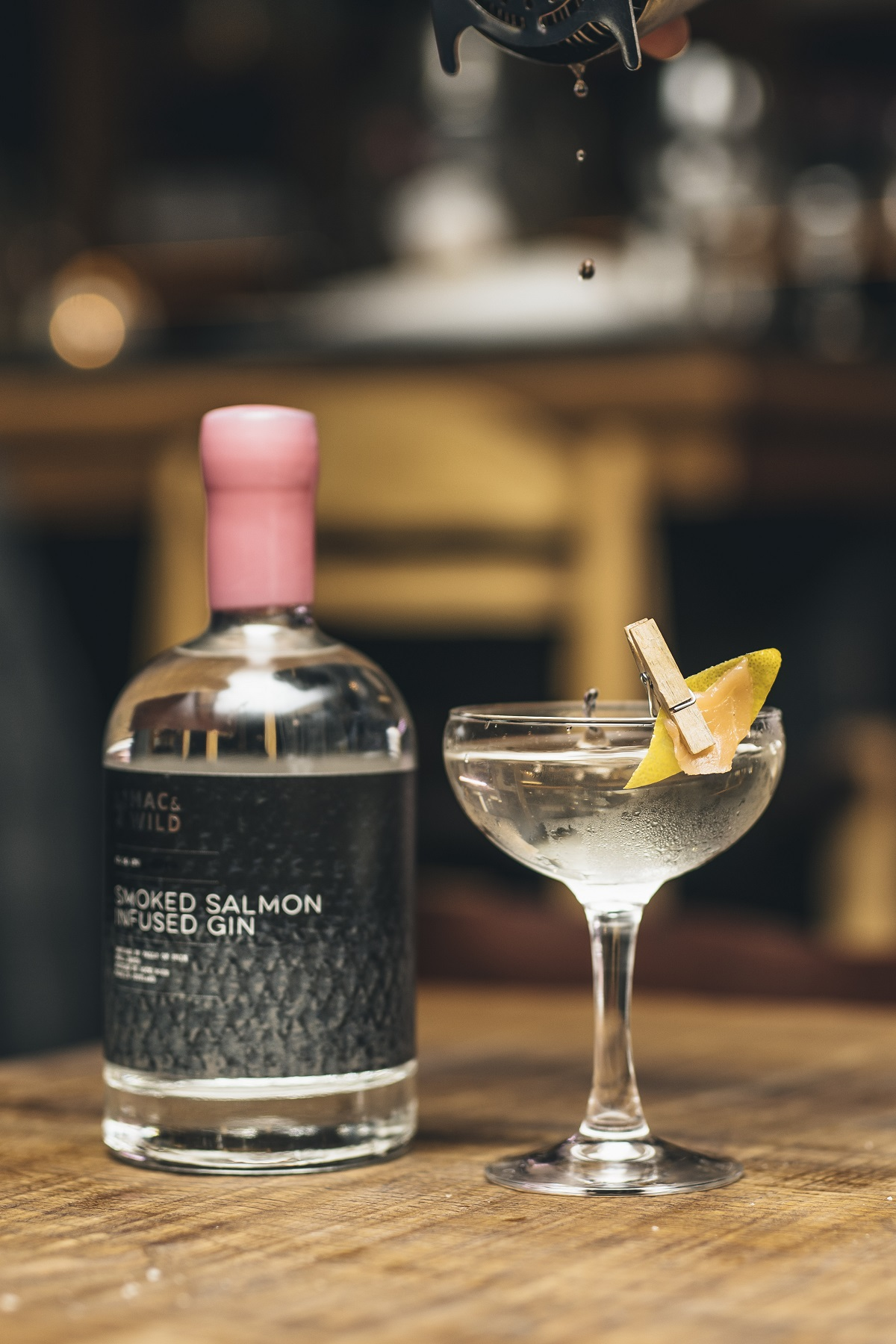 World Gin Day - Where To Celebrate: How About Smoked Salmon Infused Gin at Mac & Wild?
