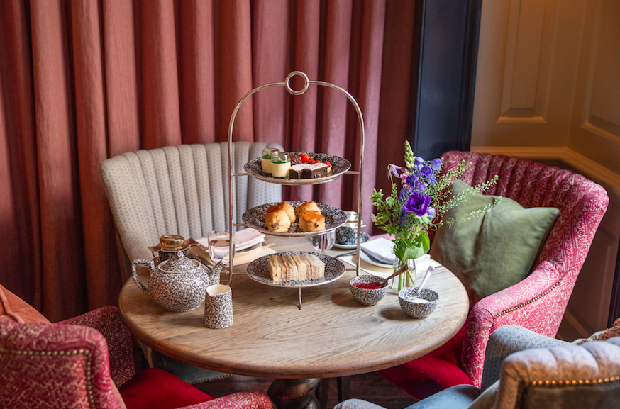 The Luxe List June 2019 - Bespoke Afternoon Tea at Dean Street Townhouse (Photo Credit: Chloe Winstanley)
