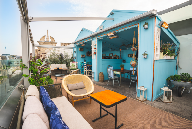 The Radio Rooftop Terraces Celebrate Spirit of Summer: English Botanical Garden with Bombay Sapphire