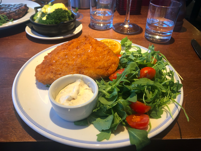 Luxe Bible Reviews The Varsity Hotel & Spa, Cambridge: Chicken Milanese at Six Brasserie