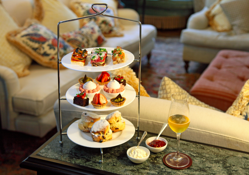 Where to Celebrate Wimbledon - Afternoon Tea at No. Fifty Cheyne