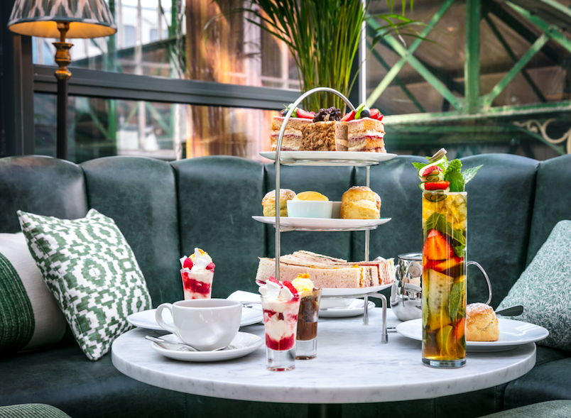 Where to Celebrate Wimbledon 2019 - Themed Afternoon Tea at Roast