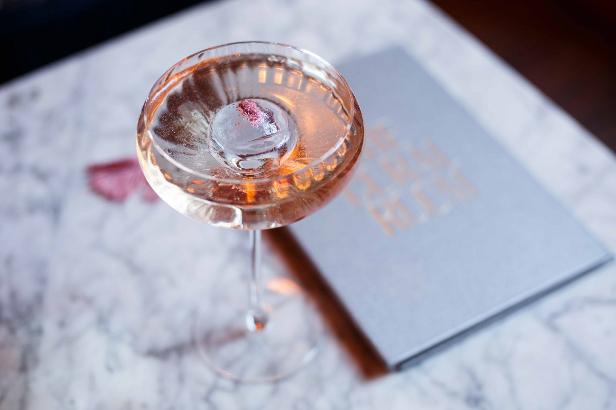 World Gin Day - Where To Celebrate: Rose Blossom Cocktail at The Coral Room